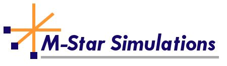 M-Star Simulations logo
